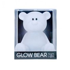 glow bear white lamp