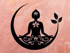Art Drawings For Kids, Art Drawings Sketches, Buddha Tattoo Design, Buddha Lotus Tattoo, Mandala Art Lesson, Buddha Art, Flower Svg, Yoga Art, Hand Art
