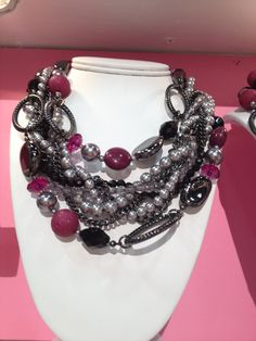 Premier Designs Jewelry Mulberry and Main Event...gorgeous!!...Follow me on Facebook Danielle Goossens Facebook Page