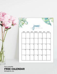 Free June 2017 Calendar: 12 Gorgeous Designs!