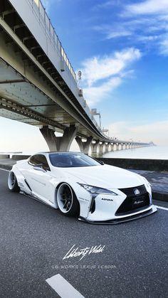 Lexus Lexus Coupe, Lexus Lc, Lexus Cars, Ferrari Laferrari, Lamborghini Gallardo, Liberty Walk, Top Cars, Japanese Cars, Modified Cars