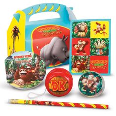 The Goods - Donkey Kong Party Favor Box