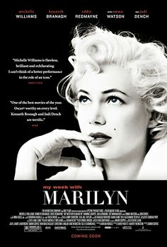 My Week With Marilyn - charming, a little bit sad, could have been better.