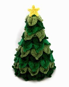 Little Abbee: O' Crochet Christmas Tree! Crochet TUTORIAL ✿⊱╮Teresa Restegui http://www.pinterest.com/teretegui/✿⊱╮