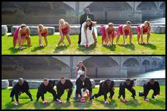 Super bowl sunday football themed wedding wedding football football themed wedding photography junglespirit Choice Image