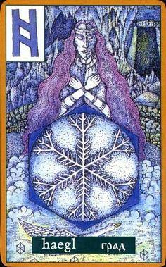 rune card ■1 hagalaz