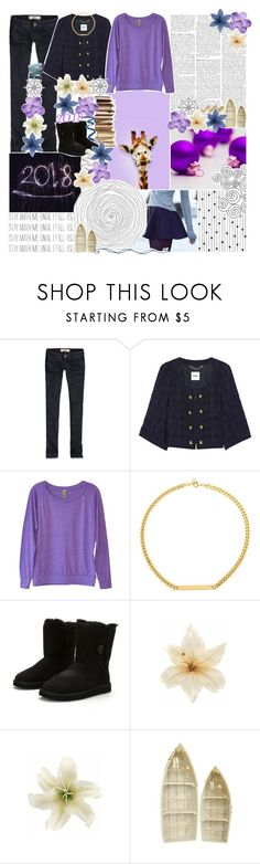 """""""//a girl with california eyes♥"""" by tropical-songwriter ❤ liked on Polyvore featuring GET LOST, Nicole Miller, Hollister Co., Moschino, Alternative, Ettika, UGG Australia, Clips and Camp"""