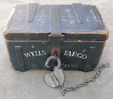 Wells Fargo & Strong Box Replica