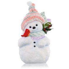 Classic Christmas Snowman and Cardinal Ornament | Hallmark Keepsake Ornament Collection