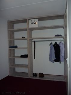 This would work for mud room--need to incorporate a seat. Closet Bedroom, Closet Space, Walk In Closet, Bedroom Storage, Closet Hacks, Closet Ideas, Linen Cabinets, Bedroom Wardrobe, Home Upgrades
