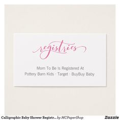 It is a graphic of Playful Free Printable Baby Registry Cards