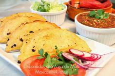 Mexico in my Kitchen: How to make Empanadas with corn dough / Cómo hacer empanadas de masa de maíz.|Authentic Traditional Mexican Recipes Bl...