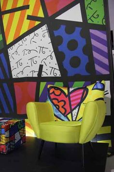 Romero Britto, my fav artist!!!!