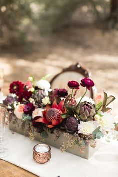 Photography: Koman Photography - komanphotography.com  Read More: http://www.stylemepretty.com/california-weddings/2015/01/28/organic-jewel-tone-wedding-inspiration/