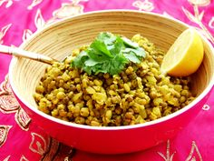 Mung Bean and Cumin Dal and Durga Puja Festivities