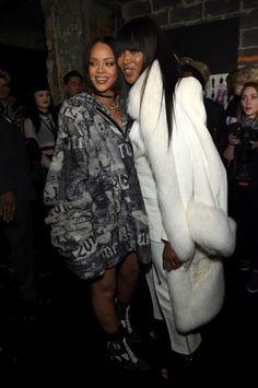 Rihanna & Naomi Campbell