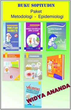 Paket Metodologi Paket Metodologi merupakan lanjutan dari Paket Basic. Pada paket ini, setiap desain penelitian dibahas secara lebih terperinci. Buku yang termasuk Paket Metodologi adalah:   BUKU SERI 5 PENELITIAN DIAGNOSTIK  Penelitian Diagnostik: Teori dan Praktik dengan SPSS dan Stata, Penerbit Salemba Medika, Jakarta, 2010 (dengan CD Interaktif)   Buku mengupas tentang analisis diagnostik. Bagian demi bagian disusun sedemikian rupa sehingga bagian sebelumnya adalah dasar bagi bagian…