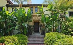 David Schwimmer has an appreciation for history, as evidenced by his Mediterranean-style home in Los Angeles. Built in 1926.