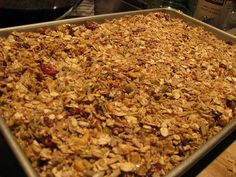 clean eating homemade granola