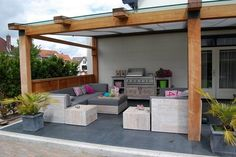 1000 images about tuin on pinterest verandas bakken and met - Deco kleine zithoek ...