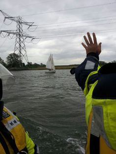 Dordrecht - De behulpzame collega watersporter