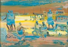 Walter Battiss, Max Beckmann, South African Artists, Georges Braque, Paul Klee, Abstract Painters, Watercolor, Canvas, Painting