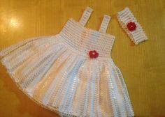 Vestito neonata uncinetto