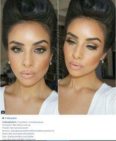 Makeup. Face. Makeup