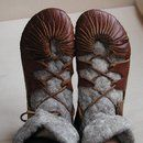 Iron age shoes (previous 'viking shoes')  I want to make these SO BAD