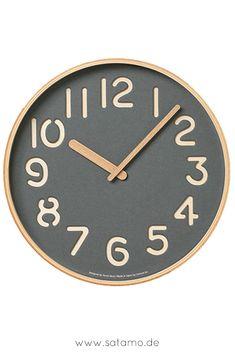 19 Best Wanduhr Design Images Wall Clocks Deko Picture Clock