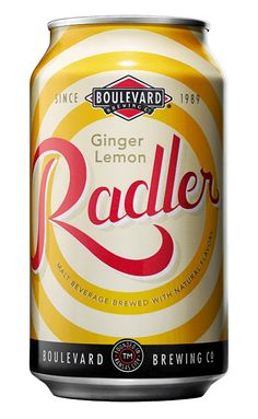 Zested with bright lemon and pungent ginger, this beer-soda hybrid is stronger than your average shandy.   - Delish.com