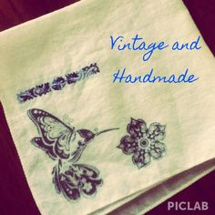 "I just added this to my closet on Poshmark: Hand Stamped Hummingbird Hankie. Price: $5 Size: 9.5"" x 9.5"""