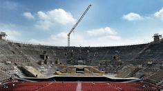 Interno dell'anfiteatro Arena