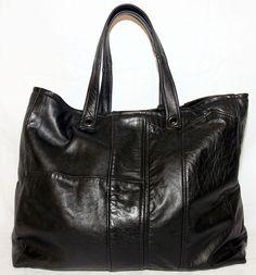 upcycled leather coat -  made into handbag