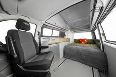 Volkswagen Trakkadu 340 Campervan bed