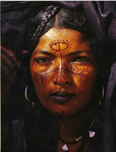 Tuareg woman (by Helga)