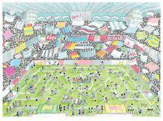 "Puzzle ""Calcio stadio"". #formiche #puzzle #calcio #stadio"