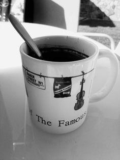 Sherlock Holmes cup of coffee