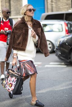 See more #LFW action on The Hub #furshoes #fuzzy