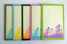 Greeting Card Set Blank Note Cards All Occasions by Zedezign