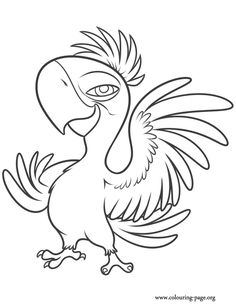 Rio Movie Coloring Pages