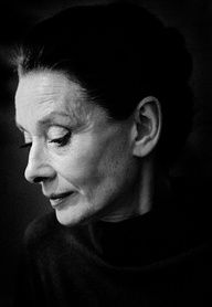 """Elegance is the only beauty that never fades.""   A. Hepburn photo by Vincent Mentzel, 1988."