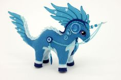 Soft toy Unicorn Dragon Horse Plush Autumn fantasy animal textile toys Soft sculpture children, fabric toy, handmade, favorite toy