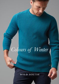 A modern take on the classic crew neck knit. Crafted in a pure 100% cotton yarn, this knit is a heavier weight in an all over waffle stitch. #lovewildsouth #nzdesign