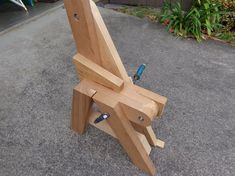 One piece folding bench and picnic table plans by BuildEazy