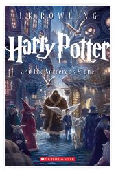 the Harry Potter Reading Club from Scholastic--can use many of these discussion questions for the Harry Potter book club