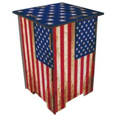 "Werkhaus Shop - Photohocker - 141 ""Flagge USA"""