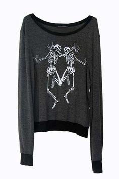 wild fox - Buscar con Google #skeleton #sweaters