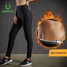 Buy Online Women Skinny Yoga Pants Running Tights Hight Waist Fitness  Workout Leggings 2017 Vansydical Hot 54f18bf9dbc