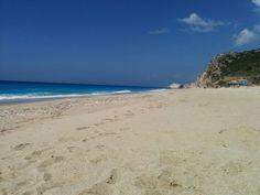 Lefkada island, Kathisma beach